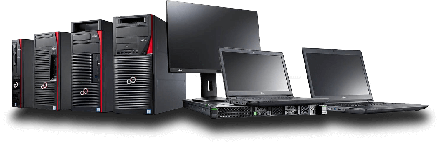 foto computer workstation e portatili fujitsu
